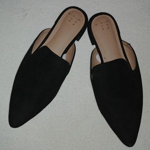 A New Day Women's Size 6 1/2 Slip on Mules